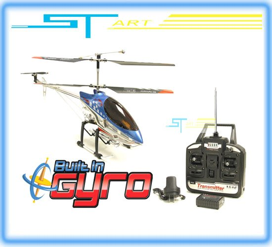 "6pcs 91cm 36"" Sky King Metal gyro 3.5ch remote control helicopter ready to fly RTF LED light RC radio toy HCW8501 HCW 8501(Hong Kong)"