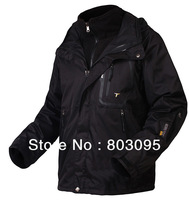 High Quality Men Outdoor Double Layer Windproof Waterproof Breathable Sportwear Jacket PIZEX