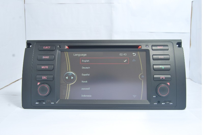 Автомобильный DVD плеер DVD/bmw M5 E39 1995/2003 1995/2003 E53 2000/2007 GPS Bluetooth Ipod HD LCD