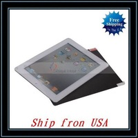 Free Shipping + Wholesale 10pcs/lot Screen Protector For iPad 2 Ship from USA-I00363