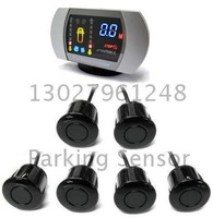 Guaranteed 100% New Colorized LED Display Parking Sensor with 6 Sensors + 2011 Best Selling