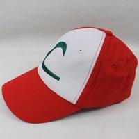 free shipping 10pcs/lot Pokemon cap Baseball cap super mario hat