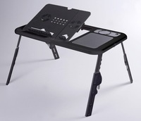 Free shipping+foldable notebook cooler pad/notebook cooler  stand/ foldable laptop desk