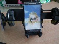 50pcs/lot Wholesale 2014 New Hot Sale Universal Mp3, MP4, Car Mobile Phone PDA Mount Holder, GPS Car Holder-- Freeshipping