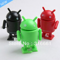 Free Shipping 3pcs/set Google Android Robot Mini Collectible Serise Android Action Figure Google Robot Toy(China (Mainland))