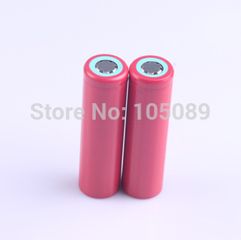 2PCS/lot Original 18650 UR18650FM 2600mAh Li-ion rechargeable battery For Sanyo Free Shipping