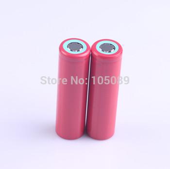 2PCS/lot Sanyo 18650 UR18650FM 2600mAh Li-ion rechargeable battery Free Shipping
