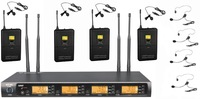 Pro MIC-AUDIO G-900 UHF 400 Channel Wireless Microphone System Lapel or Headset  DJ & Karaoke microphone (Bodypack Transmitter)