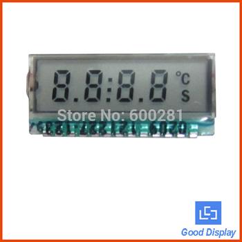 Small 7 segment 4 digit TN lcd panel GDC0209 4com lcd