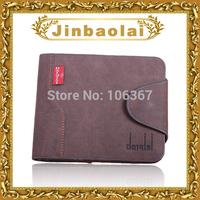 trendy nubuck leather wallet brand men's purse cowboys bolsas de marca purse MS005-1