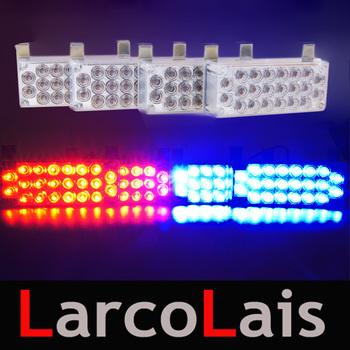 4x22 LED Strobe Flash Warning EMS Police Car Light Flashing Emergency Firemen Lamp 4*22 Yellow White Blue Amber Red Green
