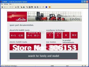 Linde Forklift Trucks 2014.10 (Spare parts for Linde forklift trucks) Lindos 2014
