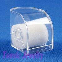 Free Shipping 6 Clear View Plastic Watch Box TVI-RYB-5
