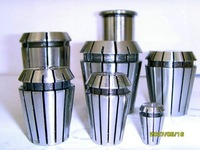 ER11, ER collet, spring collet, ER nut, clamping range from 1.0mm to 7.0mm for cnc router and milling cutting tools