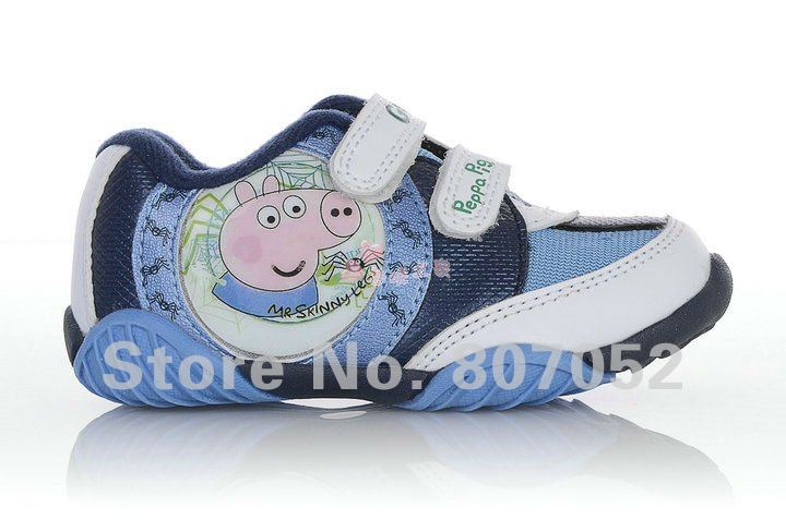 Free shipping wholesale kid boy girl child children peppa pig shose sport shoes Casual shoes Sneakers Sports 4pairs/lot CX06(China (Mainland))