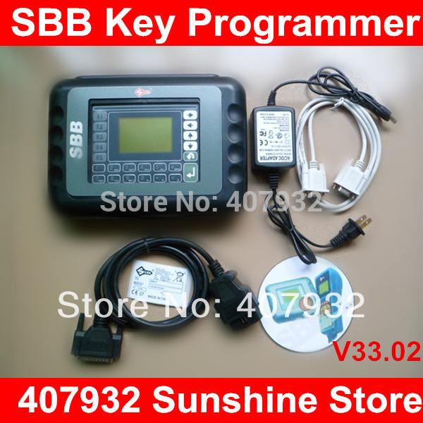 A++ Quality Silca SBB Key Programmer 2014 V33.02 With Mulit Languages 1 Year Free Warranty(China (Mainland))