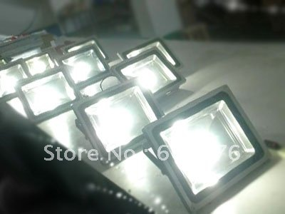 wholesale suppliers taiwan led 100% nice 50w floodlight 20pcs/lot free shpping(China (Mainland))