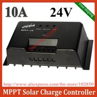 24V,10A MPPT(Maximum Power Point Tracking) solar charge controller,CE RoHS,Free shipping