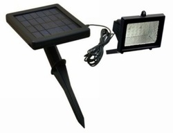 Free Shipping (4pcs)Saving Energy Green Product Solar Lawn Flood Light (SL-02B)(China (Mainland))