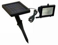 Free Shipping (4pcs)Saving Energy Green Product Solar Lawn Flood Light (SL-02B)