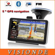 5 inch GPS navigation, Bluetooth + AV IN+ 4GB map Turkish