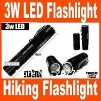 1PCS 7-3W LED 8cm Mini Flashlight AAA 3 Watt Luxeon Waterproof Torch Camping Fishing Hiking Flashlight