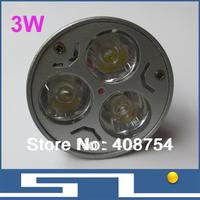 Hot Sale!! 3W led spot light, LED lamp E27, MR16,GU10 base,  Save Power 3*1W home decorated light,27pcs/Lot, free shipping