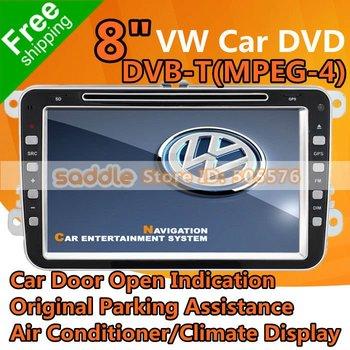 VW & Skoda Car Stereo Car DVD Car DVD Player GPS DVB-T(MPEG-4) For VW Skoda Golf Passat Jetta Tiguan Touran EOS Sharan Caddy ...
