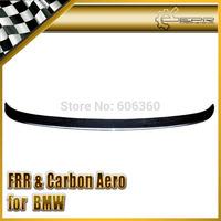 For BMW E60 5-Series Ham Style Rear Carbon Fiber Trunk Boot Ducktail Lip Spoiler