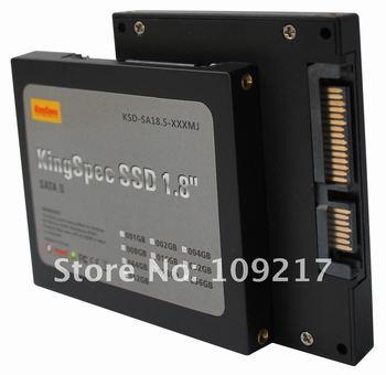 "New KINGSPEC 1.8""SATA  SATAII SSD HARD DISK DRIVE 32GBFree Shipping"