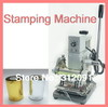 NEW HOT FOIL STAMPING MACHINE TIPPER BRONZING PVC CARD+2 FREE FOIL PAPER 110V/220V