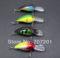 4pcs Fishing Crank Fishing Lures Baits freeshipping