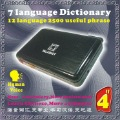 European languages small electronic dictionary (Spain, Italy, Britain, France ,Chinese)(China (Mainland))