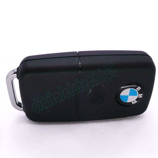 MINI BMW Car key DVR Hidden camera Video recorder for keychain Motion Detection Webcam DVR New 30fps free shipping 1pc(China (Mainland))