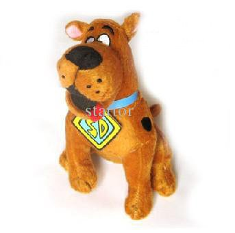 Wholesale - High Quality Soft Plush Cute Scooby Doo Dog Dolls Stuffed Toy New and retail Low Shipping 2014