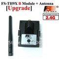 Free shipping by china post 1pcs Flysky FS 2.4G upgrade transmitter module + Antenna for rc 9ch transmitter remote control