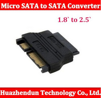 New SSD support Free shipping From factory mSATA micro SATA to SATA converter adapter 1.8` to 2.5`  inside use