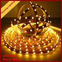 Warm White Non Waterproof LED Strip, 5m/Roll, DC12V, 24W, 300led 3528 [Housing Lighting]