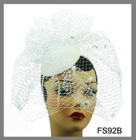 Free shipping, Assorted Colors,2012 Fashion Hair Accessories, Royal Hat Fascinator Headband