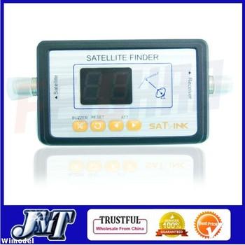 F01981 Newest Satlink WS6903 Digital LCD Displaying For Satellite Finder Meter ,TV Signal Finder   Free shipping JMT