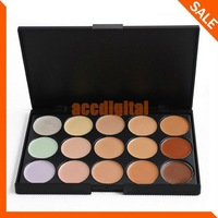 15 colors makeup Camouflage / Concealer Neutral Palette for party makeup/casual makeup/wedding makeup