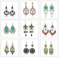 Whole Sale Mix lot Vintage Earrings 24PRS/Lot 5-10Different Models