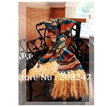 FREE SHIPPING Hot Sale Autumn /Winter The Fashion Bohemian Wool Scarf Lady's scarf Long Knitting Vintage Style Shawls(China (Mainland))
