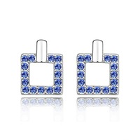 Crystal Stud Earring Crystal Jewelry (Mix minimum order is USD10)