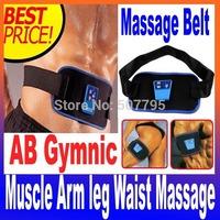 Health Care Slimming Body Massage belt AB Gymnic Electronic Muscle Arm leg Waist Massager Belt Dropshipping
