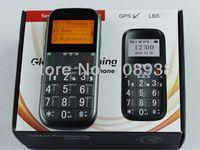 GPS tracking phone Quadband FREE web-based portable GPS tracker senior phone 8language Russian keyboard Free Shipping