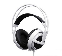 New SteelSeries Siberia V2 Headset for Gamers and Audiophiles Headphone White