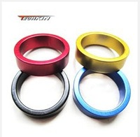 10711 Bicycle flat washer color Mountain Highway general28.6caliber aluminium alloy front fork washer 10mm