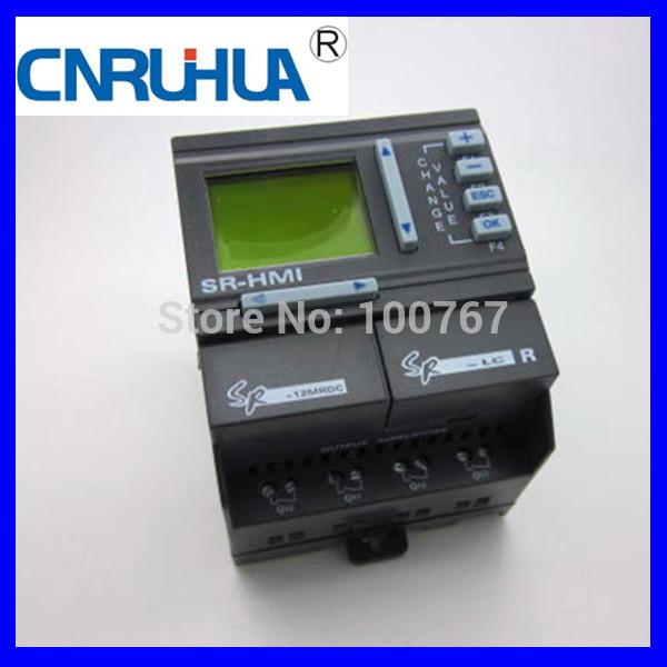 Электрооборудование CNRUIHUA DC ananolg plc plc training SR-12MRDC plc srt2 od04