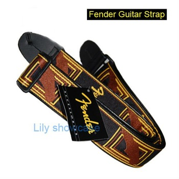 New Black Brown Classic Vintage Acoustic Electric Guitar Strap bass bulk free shipping wholesale